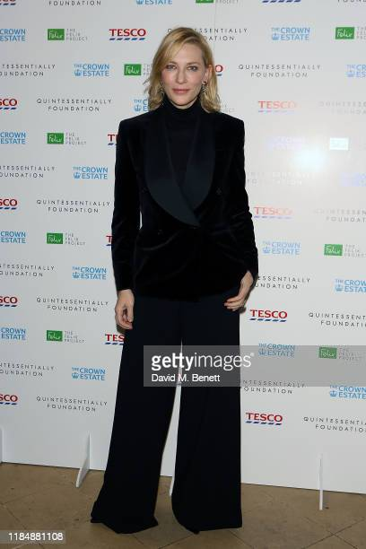 Cate Blanchett attends The Fayre Of St James's Christmas Carol Concert hosted by Quintessentially Foundation and The Crown Estate at St James' Church...