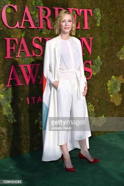 Cate Blanchett attends the Green Carpet Fashion Awards at Teatro Alla Scala on September 23 2018 in Milan Italy