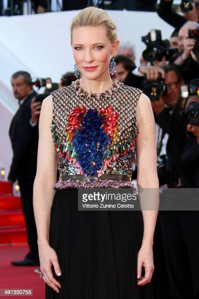 Cate Blanchett attends the 'How To Train Your Dragon 2' premiere during the 67th Annual Cannes Film Festival on May 16 2014 in Cannes France