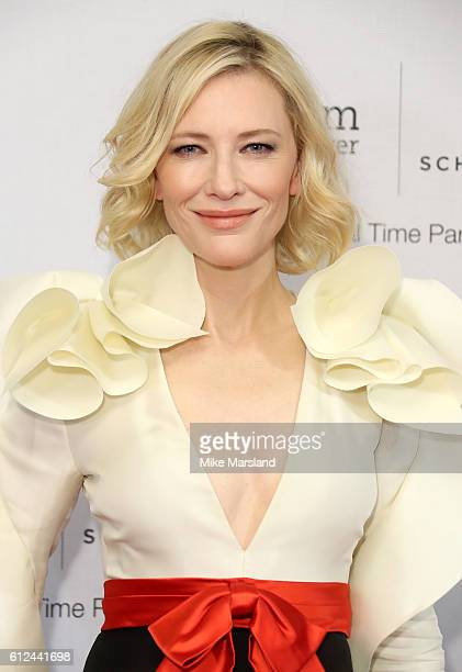 Cate Blanchett attends the IWC Gala Dinner in honour of the British Film Institute at Rosewood Hotel on October 4 2016 in London England