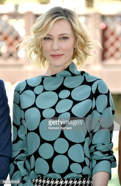 Cate Blanchett attends the IWC Photocall on day two of the 14th annual Dubai International Film Festival held at the Madinat Jumeriah Complex on...