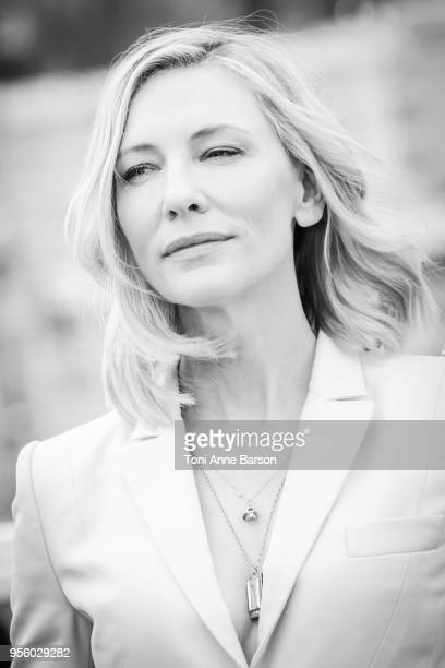 Cate Blanchett attends the Jury photocall during the 71st annual Cannes Film Festival at Palais des Festivals on May 8 2018 in Cannes France