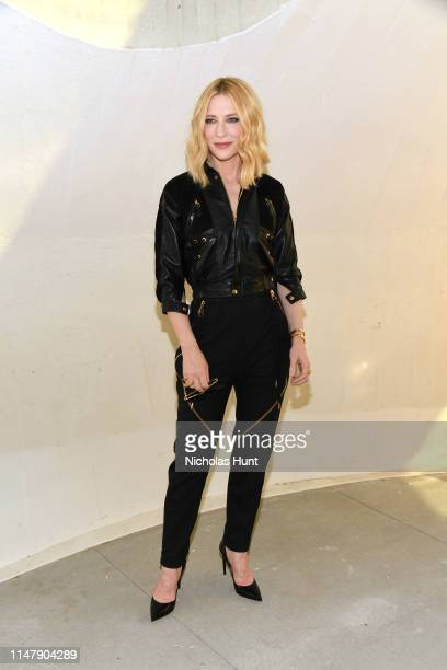 Cate Blanchett attends the Louis Vuitton Cruise 2020 Fashion Show at JFK Airport on May 08 2019 in New York City