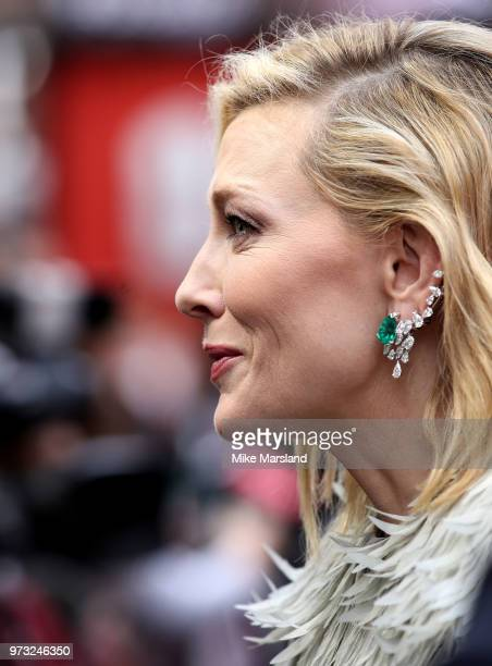 Cate Blanchett attends the 'Ocean's 8' UK Premiere held at Cineworld Leicester Square on June 13 2018 in London England