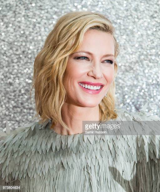 Cate Blanchett attends the 'Ocean's 8' UK Premiere held at Cineworld Leicester Square on June 13, 2018 in London, England.