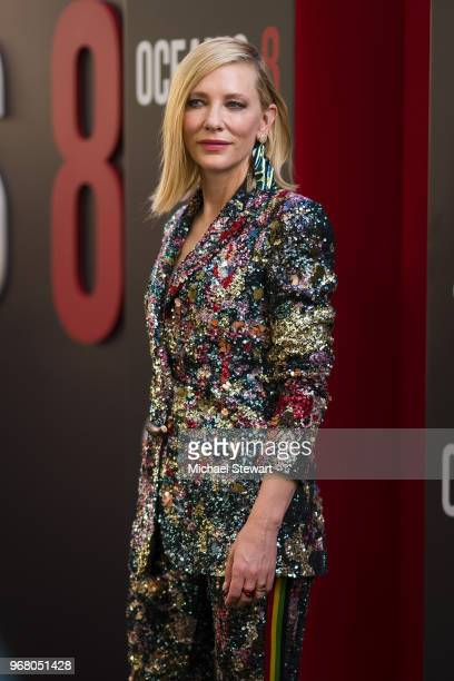 Cate Blanchett attends the 'Ocean's 8' World Premiere at Alice Tully Hall on June 5 2018 in New York City