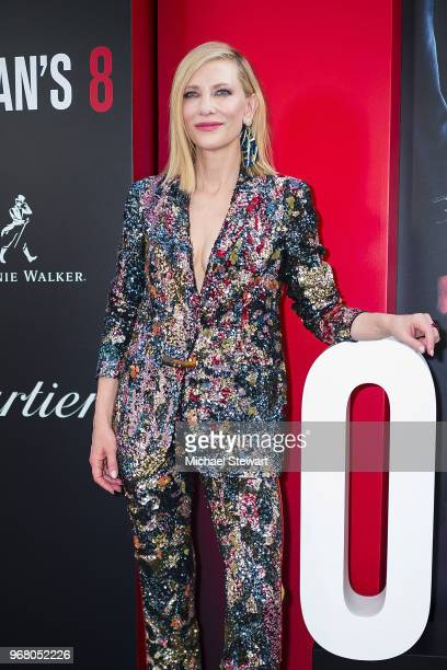 Cate Blanchett attends the Ocean's 8 World Premiere at Alice Tully Hall on June 5 2018 in New York City