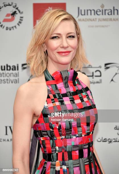 Cate Blanchett attends the Opening Night Gala of the 14th annual Dubai International Film Festival held at the Madinat Jumeriah Complex on December 6...