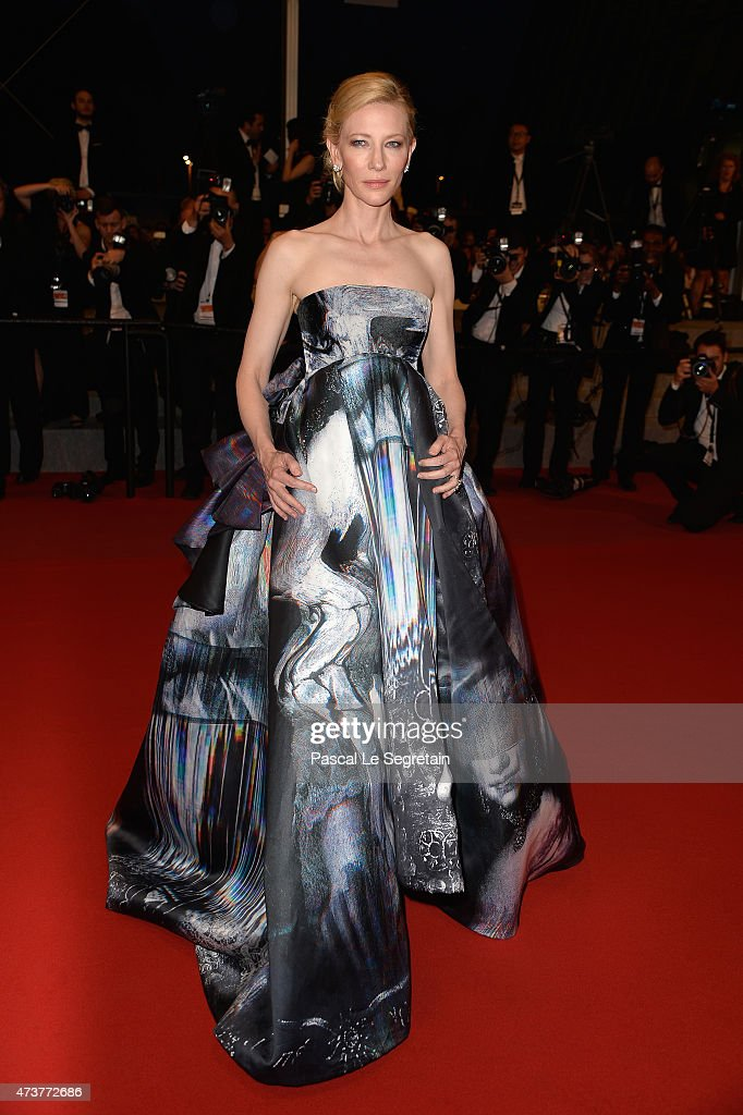 Cate Blanchett attends the Premiere of 'Carol' during the 68th annual Cannes Film Festival on May 17, 2015 in Cannes, France.