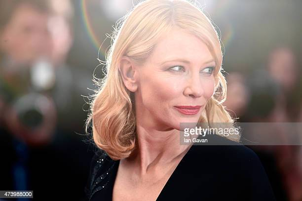 "Cate Blanchett attends the Premiere of ""Sicario"" during the 68th annual Cannes Film Festival on May 19, 2015 in Cannes, France."