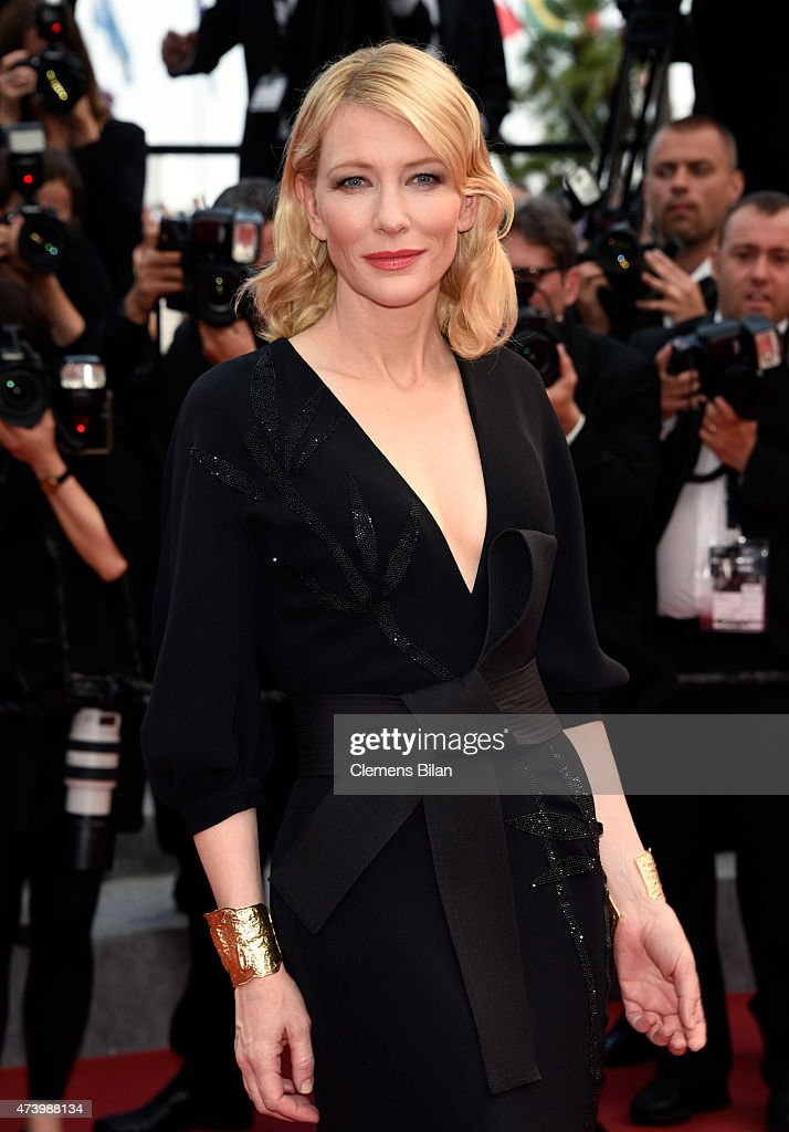 Cate Blanchett attends the Premiere of 'Sicario' during the 68th annual Cannes Film Festival on May 19, 2015 in Cannes, France.