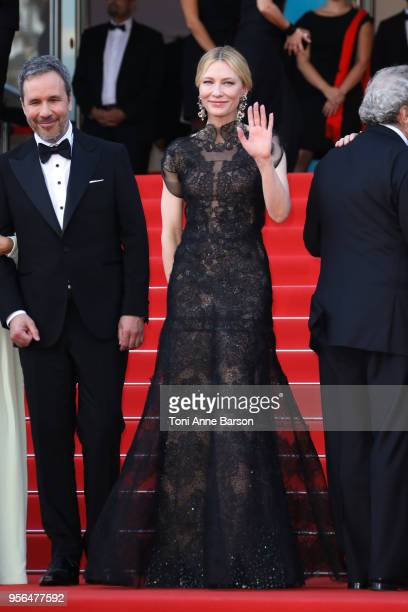 """Cate Blanchett attends the screening of """"Everybody Knows """" and the opening gala during the 71st annual Cannes Film Festival at Palais des Festivals..."""