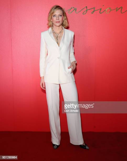 Cate Blanchett attends the Si Passione By Giorgio Armani Launch on March 13 2018 in Sydney Australia