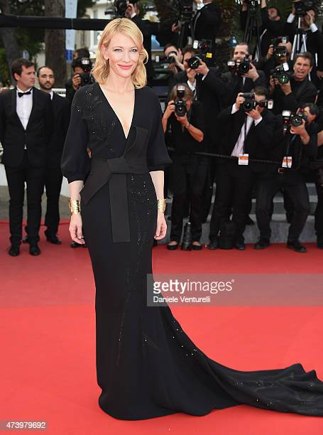 """Cate Blanchett attends the """"Sicario"""" Premiere during the 68th annual Cannes Film Festival on May 19, 2015 in Cannes, France."""