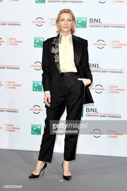 Cate Blanchett attends the The House With A Clock In Its Walls photocall during the 13th Rome Film Fest at Auditorium Parco Della Musica on October...