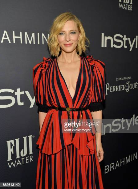 Cate Blanchett attends the Third Annual InStyle Awards presented by InStyle at The Getty Center on October 23 2017 in Los Angeles California