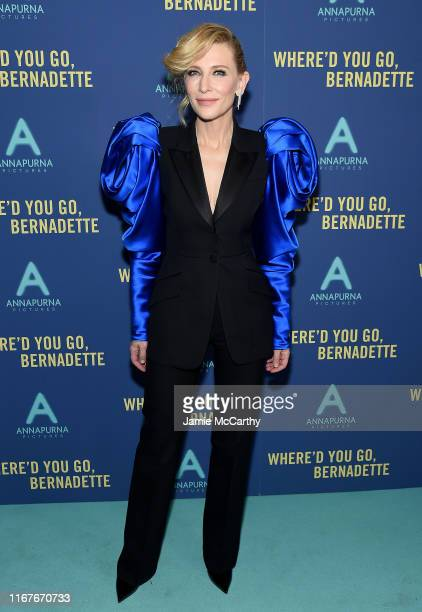 Cate Blanchett attends the Where'd You Go Bernadette New York Screening at Metrograph on August 12 2019 in New York City