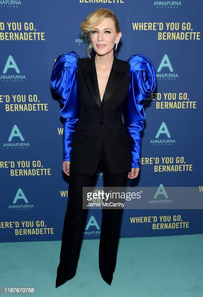 """Cate Blanchett attends the """"Where'd You Go, Bernadette"""" New York Screening at Metrograph on August 12, 2019 in New York City."""