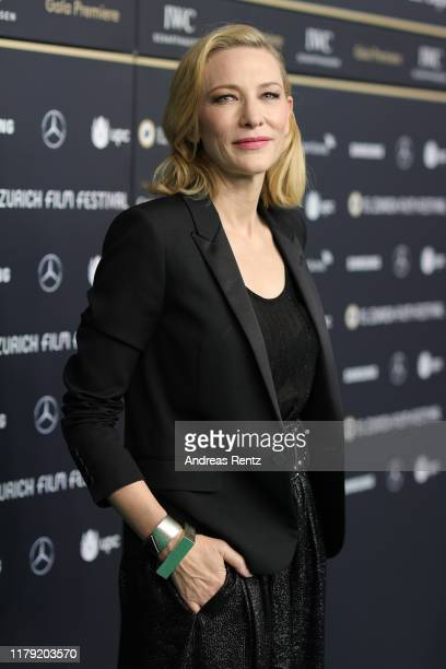 "Cate Blanchett attends the ""Where'd You Go, Bernadette"" premiere during the 15th Zurich Film Festival at Kino Corso on October 05, 2019 in Zurich,..."