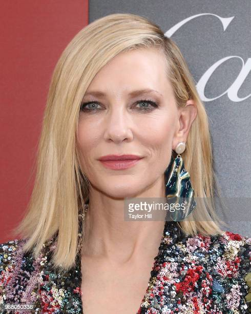 Cate Blanchett attends the world premiere of 'Ocean's 8' at Alice Tully Hall at Lincoln Center on June 5 2018 in New York City