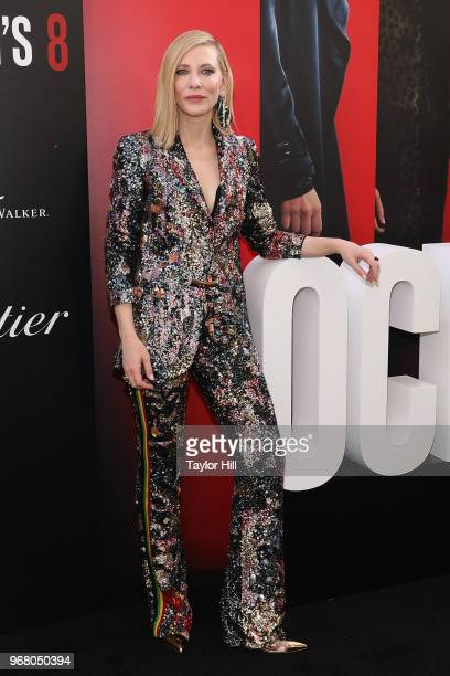 Cate Blanchett attends the world premiere of Ocean's 8 at Alice Tully Hall at Lincoln Center on June 5 2018 in New York City