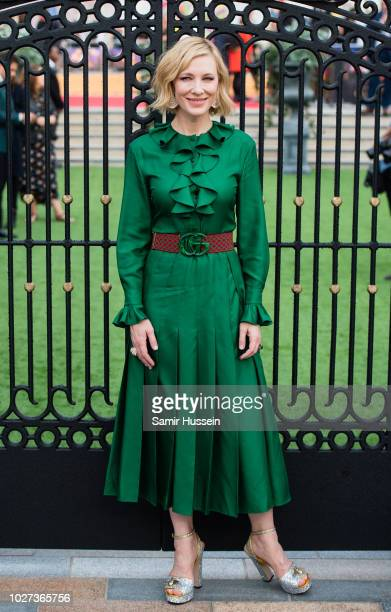 """Cate Blanchett attends the World Premiere of """"The House With The Clock In Its Walls"""" at Westfield White City on September 5, 2018 in London, England."""