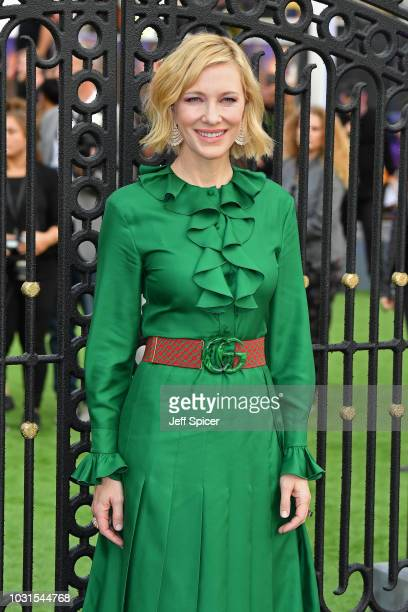 Cate Blanchett attends the World Premiere of The House With The Clock In Its Walls at Westfield White City on September 05 2018 in London England