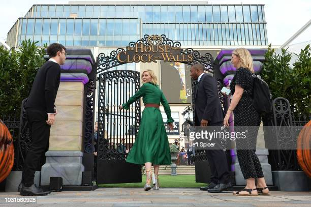 """Cate Blanchett attends the World Premiere of """"The House With The Clock In Its Walls"""" at Westfield White City on September 05, 2018 in London, England."""