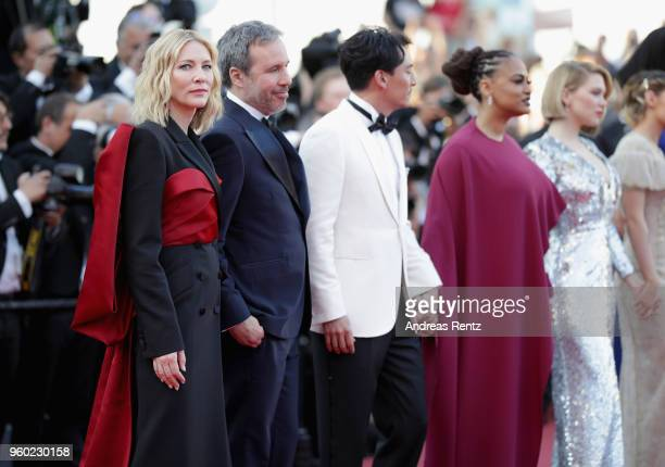 Cate Blanchett Denis Villeneuve Chang Chen Ava DuVernay and Lea Seydoux attend the screening of 'The Man Who Killed Don Quixote' and the Closing...