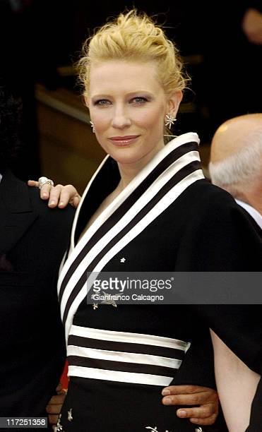 Cate Blanchett during 2006 Cannes Film Festival Babel Premiere at Palais des Festival in Cannes France