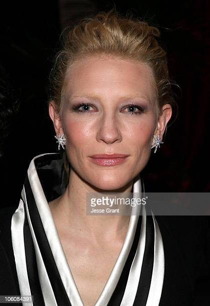 Cate Blanchett during 2006 Cannes Film Festival Paramount Pictures' Babel Party at Nikki Beach in Cannes France