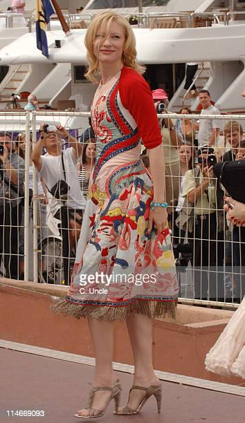 Cate Blanchett during 2006 Cannes Film Festival Seen Around Cannes Day 8 at Cannes in Cannes France