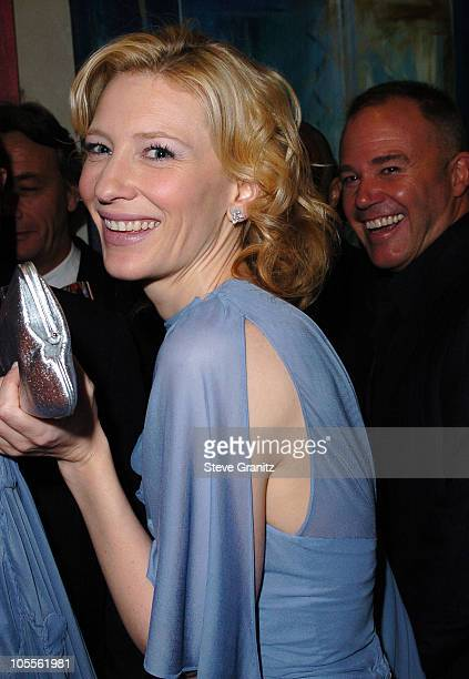 Cate Blanchett during 62nd Annual Golden Globe Awards NBC Universal And Focus Features After Party in Beverly Hills California United States