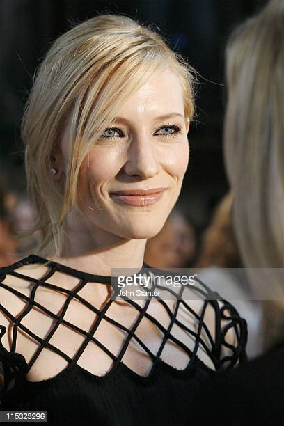 Cate Blanchett during Babel Sydney Premiere Red Carpet at Dendy Opera Quays in Sydney NSW Australia
