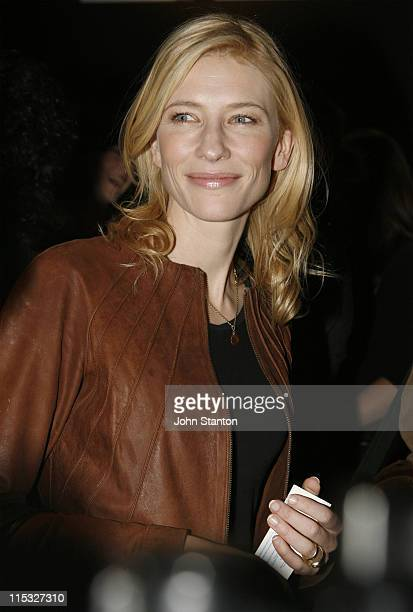 Cate Blanchett during KEATING The Musical Opening Night November 15 2006 at Belvoir St Theatre in Sydney NSW Australia