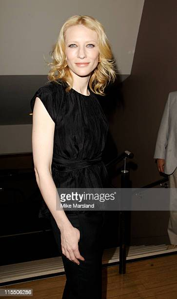 """Cate Blanchett during """"Little Fish"""" London Premiere - Outside Arrivals - July 16, 2006 at Curzon Soho in London, Great Britain."""