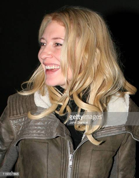 Cate Blanchett during Opening Night of Exit The King Starring Geoffrey Rush in Sydney on June 132007 at Belvoir St Theatre in Sydney NSW Australia