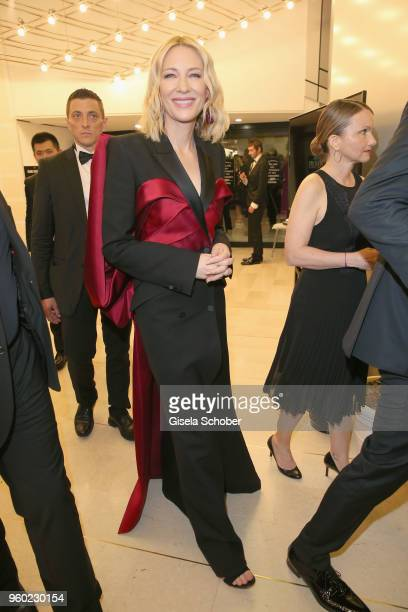 Cate Blanchett during the closing ceremony of the 71st annual Cannes Film Festival at Palais des Festivals on May 19 2018 in Cannes France