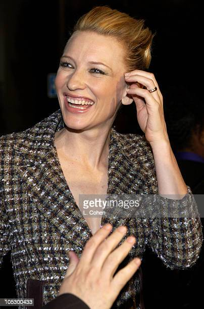 """Cate Blanchett during """"Veronica Guerin"""" - Los Angeles Premiere - Red Carpet at The Bruin Theater in Westwood, California, United States."""