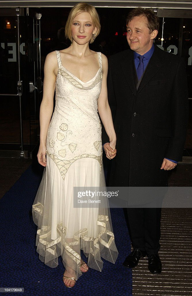 Cate Blanchett & Husband Andrew Upton, Royal Charity Premiere Of 'Charlotte Gray', Odeon Leicester Square, London