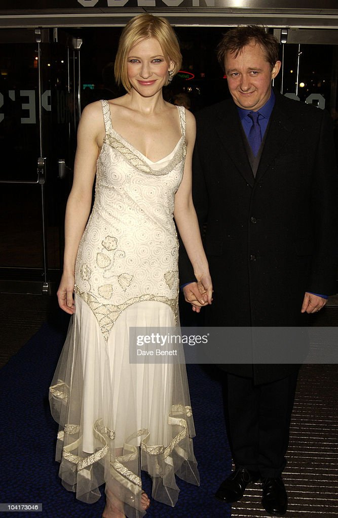 Cate Blanchett & Husband, Royal Charity Premiere Of 'Charlotte Gray', Odeon Leicester Square, London