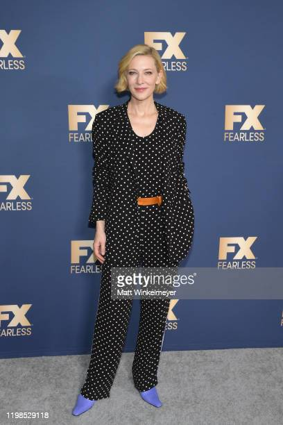 Cate Blanchett of 'Mrs. America' attends the FX Networks' Star Walk Winter Press Tour 2020 at The Langham Huntington, Pasadena on January 09, 2020 in...