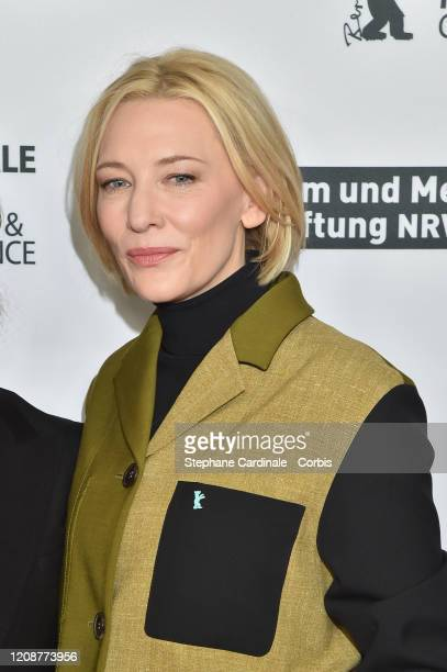 Cate Blanchett poses at the Stateless photo call during the 70th Berlinale International Film Festival Berlin at Zoo Palast on February 26 2020 in...