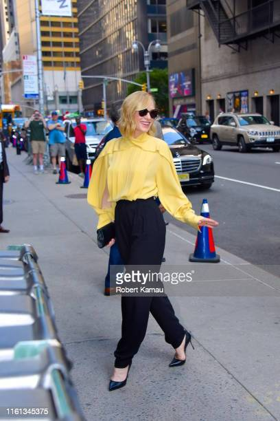 Cate Blanchett seen out and about in Manhattan on August 12, 2019 in New York City.