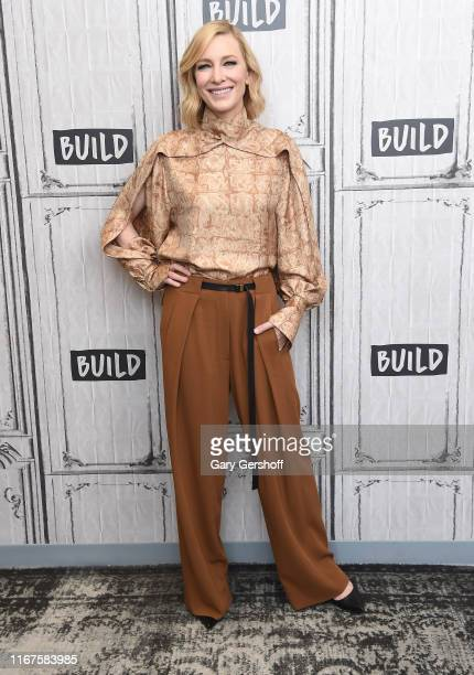 "Cate Blanchett visits the Build Series to discuss the film ""Where'd You Go, Bernadette""at Build Studio on August 12, 2019 in New York City."