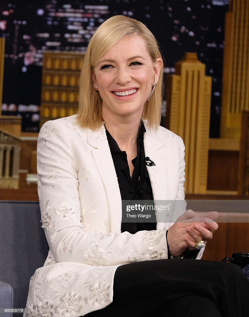 "Cate Blanchett Visits ""The Tonight Show Starring Jimmy Fallon"""