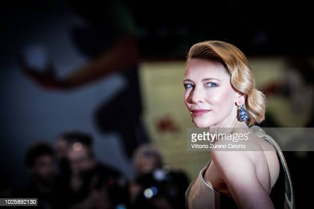 Cate Blanchett walks the red carpet ahead of the 'Suspiria' screening during the 75th Venice Film Festival at Sala Grande on September 1, 2018 in...