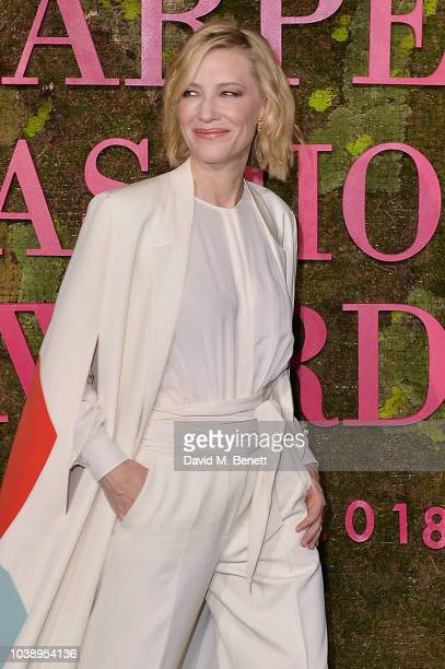 Cate Blanchett wearing Stella Mccartney attends The Green Carpet Fashion Awards Italia 2018 at Teatro Alla Scala on September 23 2018 in Milan Italy