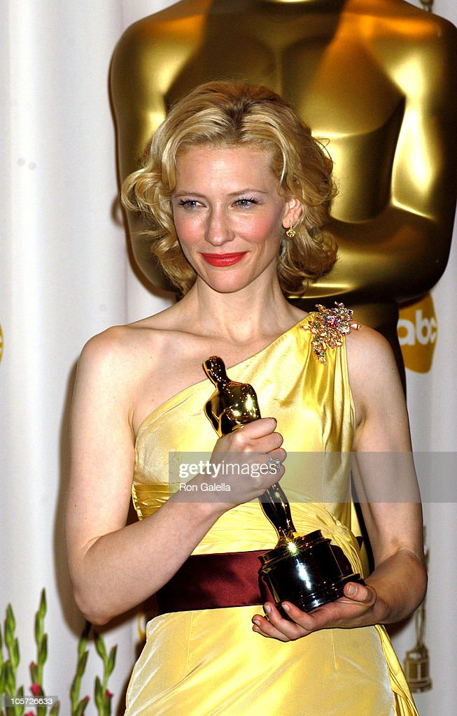 Cate Blanchett, winner Best Actress in a Supporting Role for 'The Aviator'