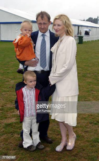 Cate Blanchett with her husband Andrew Upton and her sons Roman and Dashiell